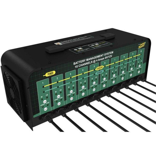 【USA在庫あり】 バッテリーテンダー Deltran Battery Tender スーパースマート10ポートバッテリ管理システム 212158 HD店