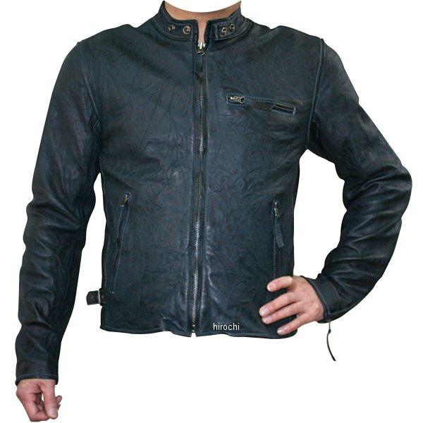 モトフィールド MOTO FIELD 春夏モデル ビンテージシングルレザージャケット ネイビー 5Lサイズ MF-LJ133K HD店