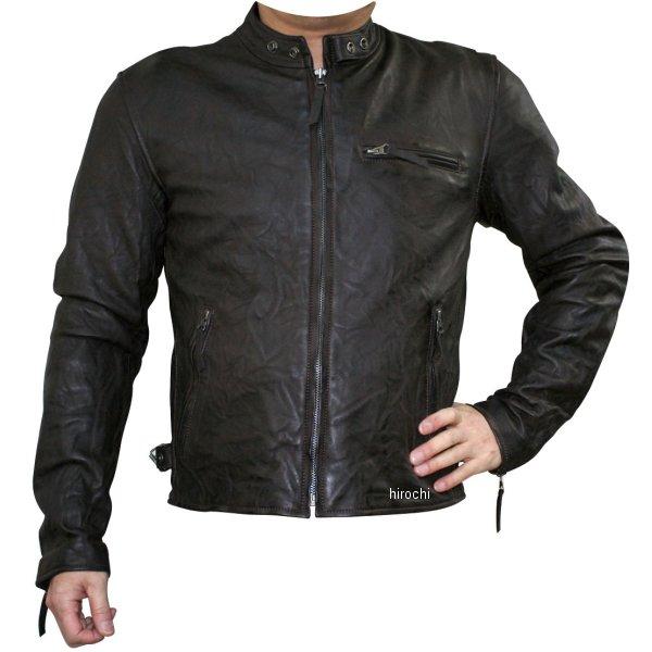 モトフィールド MOTO FIELD 春夏モデル ビンテージシングルレザージャケット ダークブラウン 5Lサイズ MF-LJ133K HD店