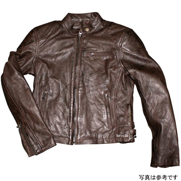 モトフィールド MOTO FIELD 春夏モデル シングルレザージャケット ビンテージ レディース ネイビー Lサイズ MF-LJ134 HD店