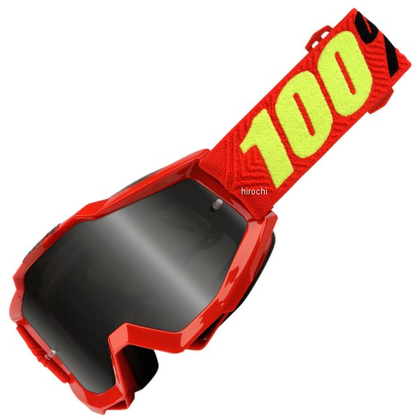 【USA在庫あり】 100パーセント 100% ゴーグル Accuri Sand SReflex 青/スモークレンズ/青 白ストラップ 2601-2434 HD店