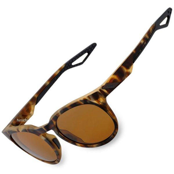 【USA在庫あり】 100パーセント 100% サングラス Active Lifestyle カモ Soft tact ハバナ/ブロンズ偏光レンズ 2610-1047 HD店