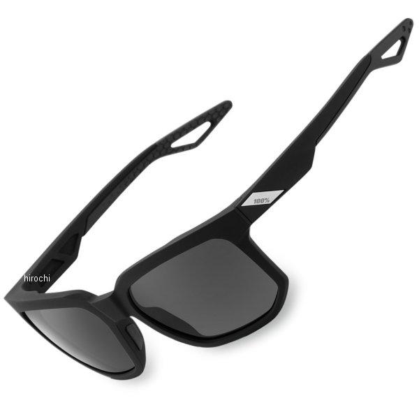 【USA在庫あり】 100パーセント 100% サングラス Active Lifestyle Centric Soft tact 黒/グレー偏光レンズ 2610-1053 HD店