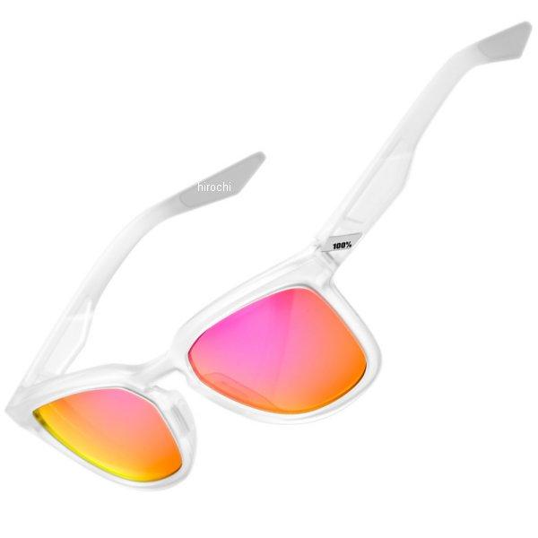 【USA在庫あり】 100パーセント 100% サングラス Active Lifestyle Hudson マット半透明/紫ミラーレンズ 2610-1082 HD店