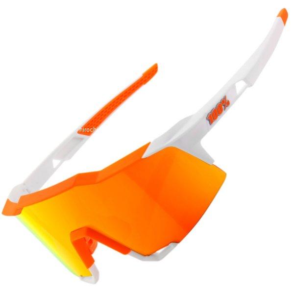 【USA在庫あり】 100パーセント 100% サングラス Speedcraft オレンジフレーム/白赤ミラーレンズ 2610-1097 HD店
