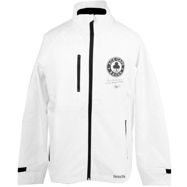 エースカフェロンドン 2019年春夏モデル エースレーサー ソフトシェルジャケット 白 Sサイズ AR1801WS-WH/S HD店