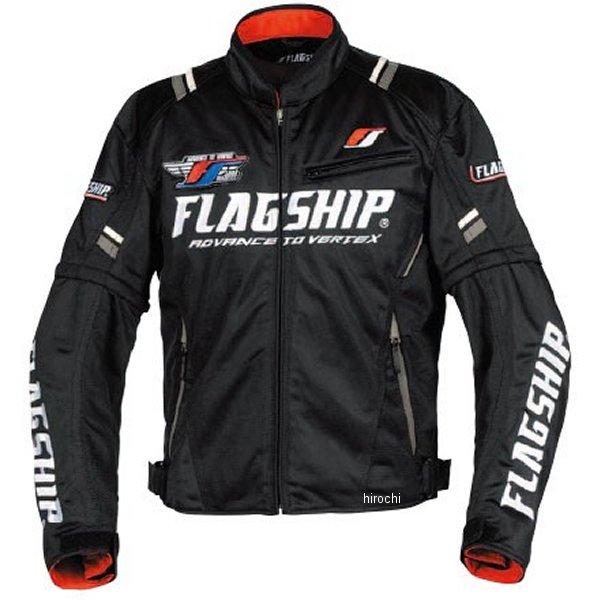 フラッグシップ FLAGSHIP 春夏モデル アーバンライドメッシュジャケット 黒/白 Lサイズ FJ-S194 HD店