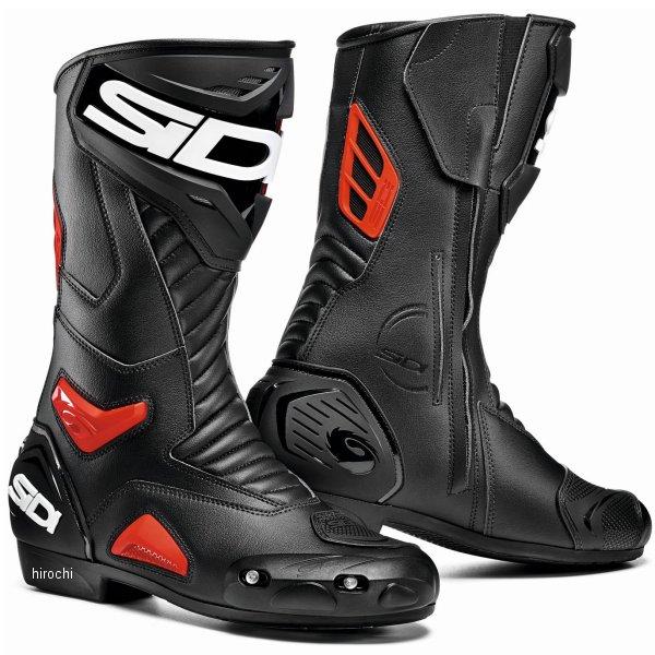 【メーカー在庫あり】 シディー SIDI 春夏モデル ブーツ PERFORMER 黒/赤 41サイズ(26.0cm) 8017732504562 HD店