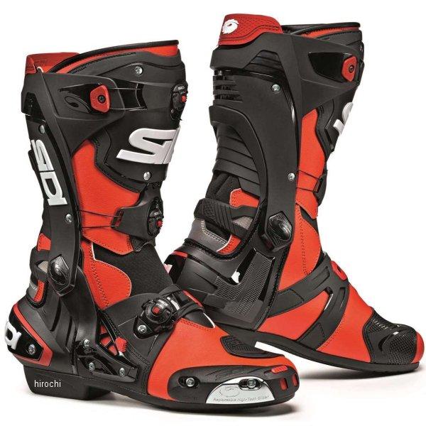 シディー SIDI 春夏モデル ブーツ REX 蛍光赤/黒 40サイズ(25.5cm) 8017732517852 HD店