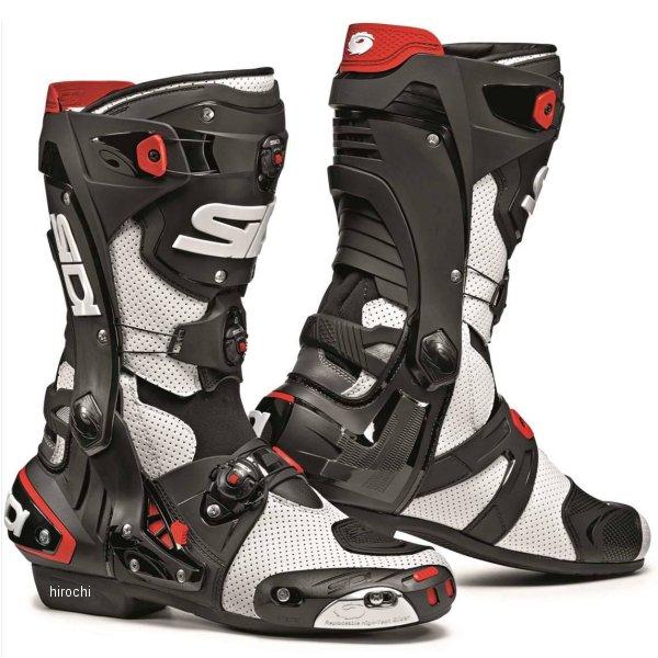 【メーカー在庫あり】 シディー SIDI 春夏モデル ブーツ REX AIR 白/黒 43サイズ (27.0cm) 8017732517982 HD店