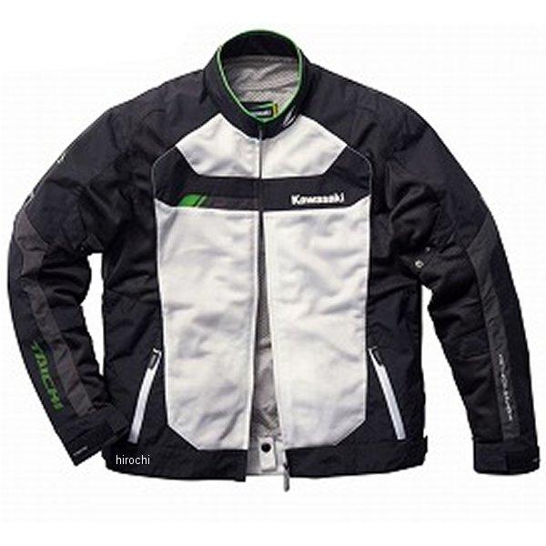 カワサキ純正 春夏モデル クロスオーバーメッシュジャケットV 黒/白 3Lサイズ J8001-2778 HD店