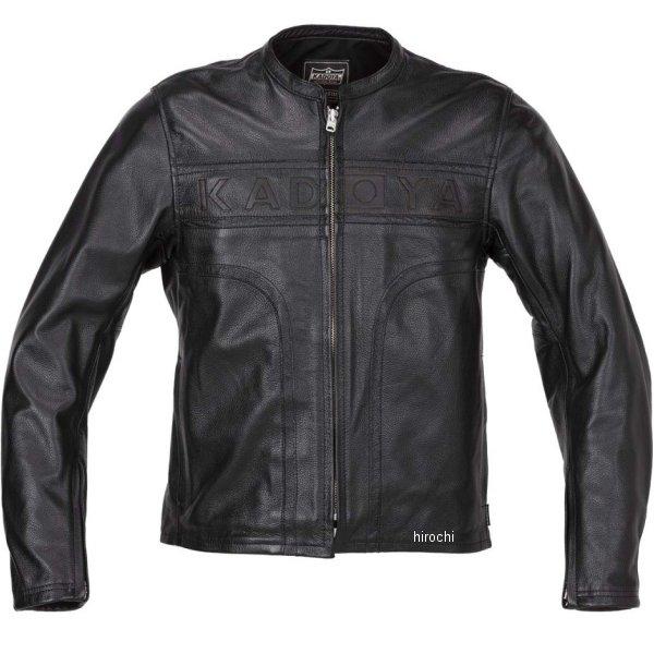カドヤ KADOYA 2019年春夏モデル レザージャケット MARK-ONE 黒 Lサイズ 1527-0 HD店