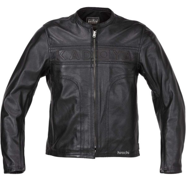 カドヤ KADOYA 2019年春夏モデル レザージャケット MARK-ONE 黒 3Lサイズ 1527-1 HD店