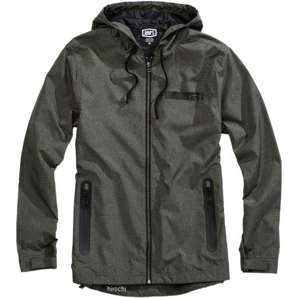 【USA在庫あり】 100パーセント 100% ジャケット Storbi Heather アーミー Lサイズ 3001-0943 HD店