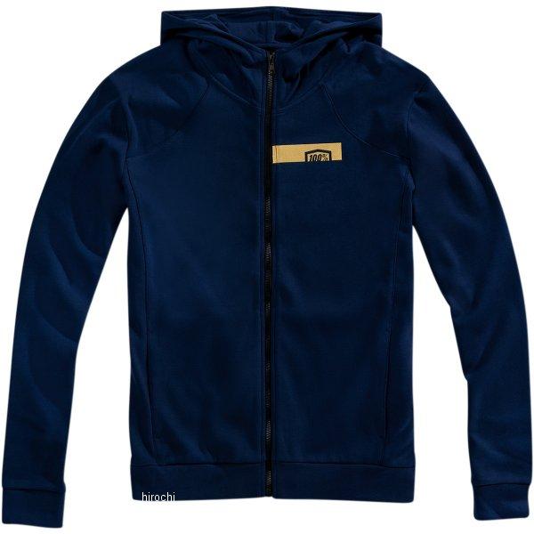 【USA在庫あり】 100パーセント 100% フリース Zip-Front Chamber 青/ゴールド Mサイズ 3050-4683 HD店