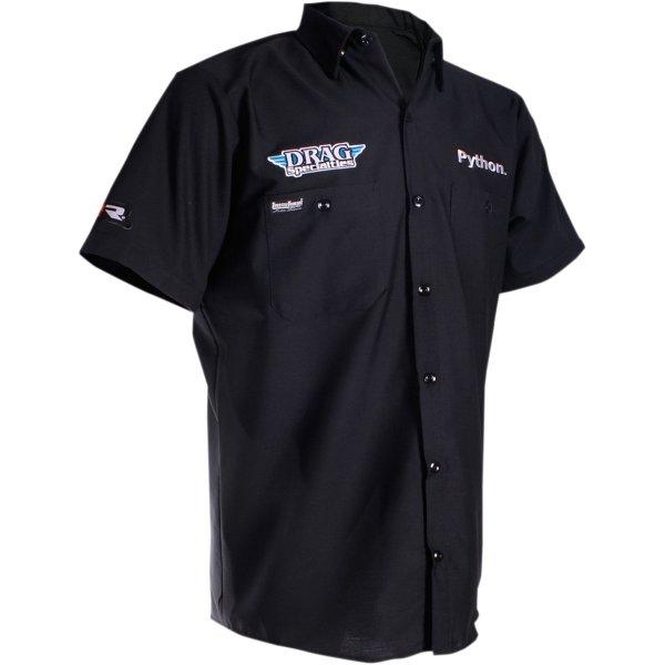 【USA在庫あり】 スロットルスレッズ Throttle Threads ショップシャツ Drag Specialties 黒 3XLサイズ 3040-2582 HD店