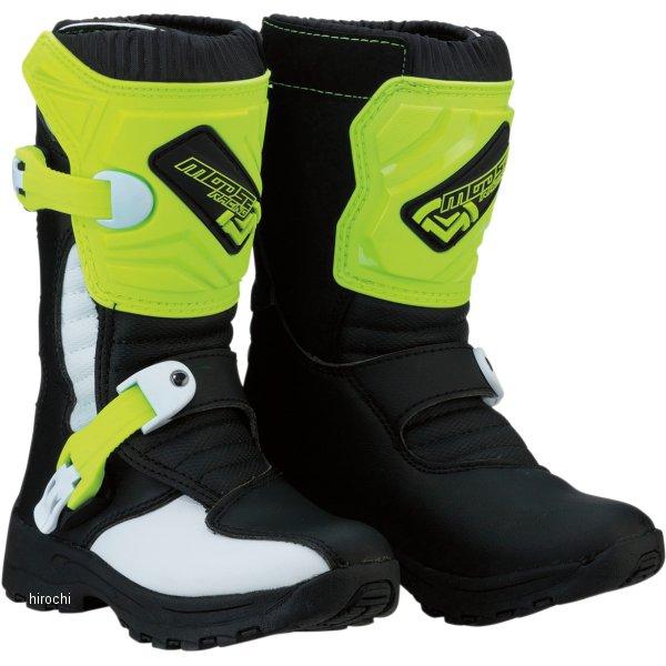 【USA在庫あり】 ムースレーシング MOOSE RACING ブーツ 子供用 M1.3 黒/蛍光黄 11(18.5cm) 3411-0474 HD店
