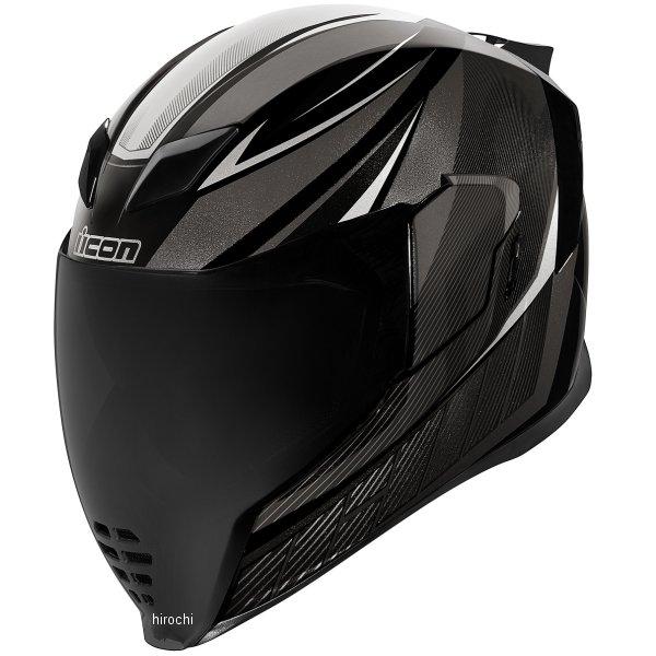 アイコン ICON 2019年春夏モデル フルフェイスヘルメット AIRFLITE QB1 黒 Sサイズ 0101-12059 HD店