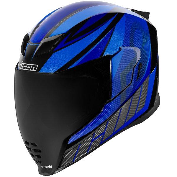 アイコン ICON フルフェイスヘルメット AIRFLITE QB1 青 XLサイズ 0101-12069 HD店