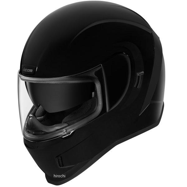 アイコン ICON フルフェイスヘルメット AIRFORM 黒 3XLサイズ 0101-12106 HD店
