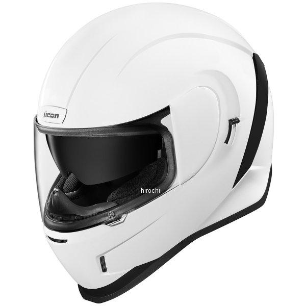 アイコン ICON フルフェイスヘルメット AIRFORM 白 2XLサイズ 0101-12112 HD店