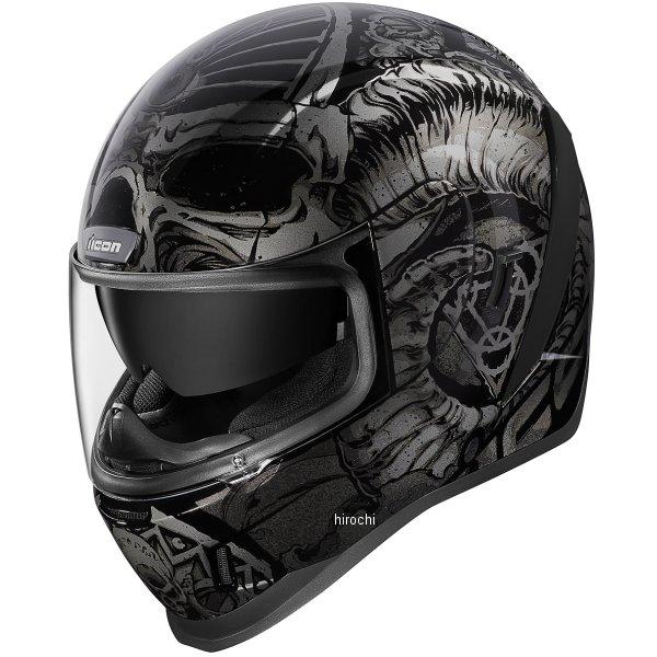 アイコン ICON フルフェイスヘルメット AIRFORM SACROSANCT 黒 Mサイズ 0101-12116 HD店