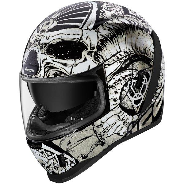 アイコン ICON フルフェイスヘルメット AIRFORM SACROSANCT 白 2XLサイズ 0101-12133 HD店