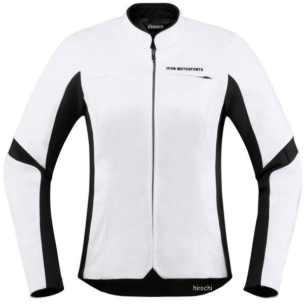 アイコン ICON 2019年春夏モデル ジャケット OVERLORD レディース 白 CE Mサイズ 2813-0825 HD店