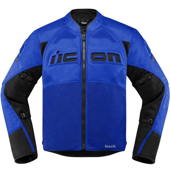 アイコン ICON ジャケット CONTRA2 青 Lサイズ 2820-4745 HD店
