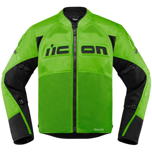 アイコン ICON ジャケット CONTRA2 緑 Mサイズ 2820-4751 HD店