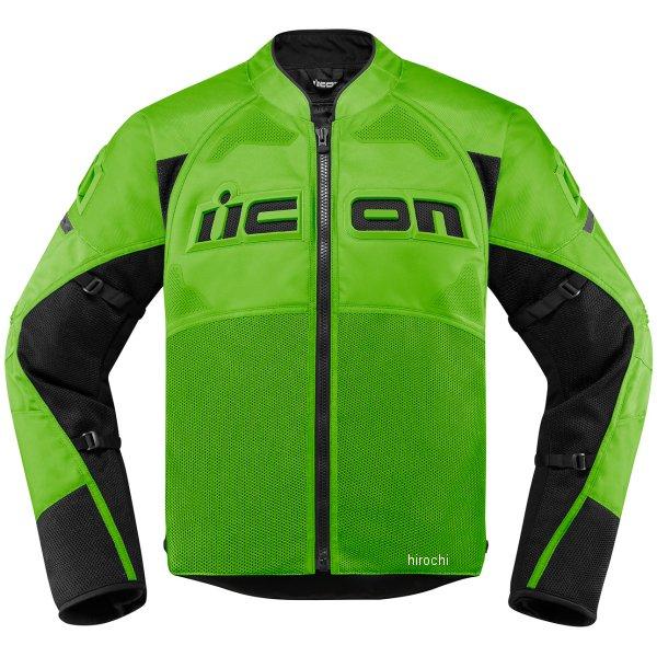 アイコン ICON ジャケット CONTRA2 緑 Lサイズ 2820-4752 HD店