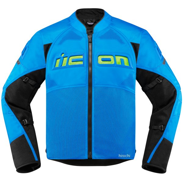 アイコン ICON ジャケット CONTRA2 ライトブルー 青 XLサイズ 2820-4767 HD店