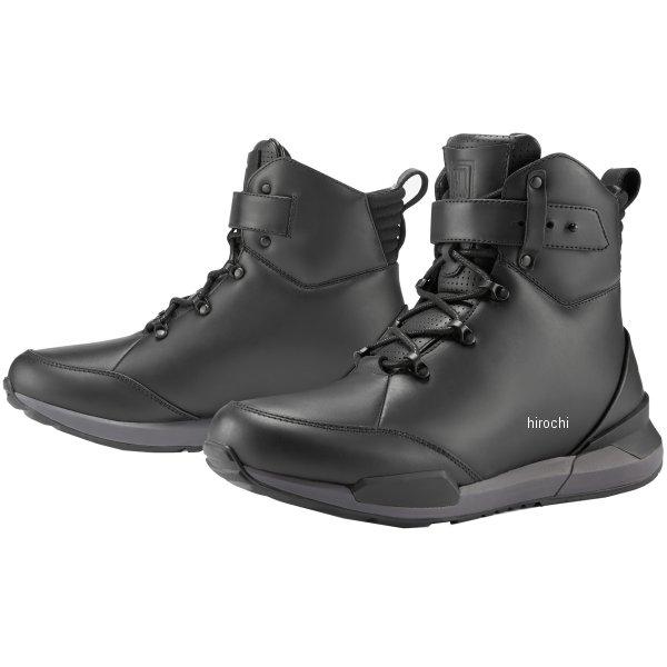 アイコン ICON ブーツ VARIAL 黒 9.5サイズ 3403-0973 HD店