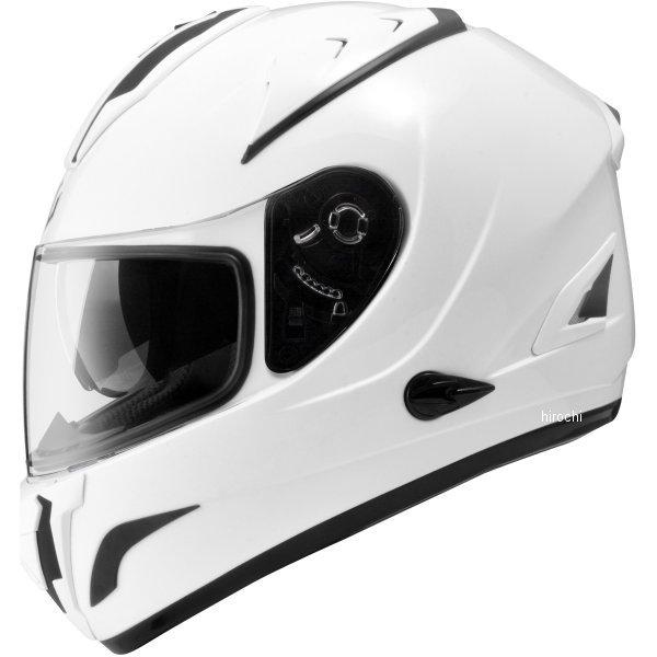 【メーカー在庫あり】 ジーロット ZEALOT フルフェイスヘルメット ZG エアロツーリスト AeroTourist SOLID 白 Mサイズ AT0011/M HD店