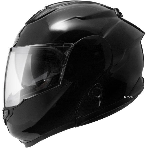 ジーロット ZEALOT システムヘルメット ZG システムツアラー SysytemTourer SOLID 黒 XSサイズ ZGST0011/XS HD店