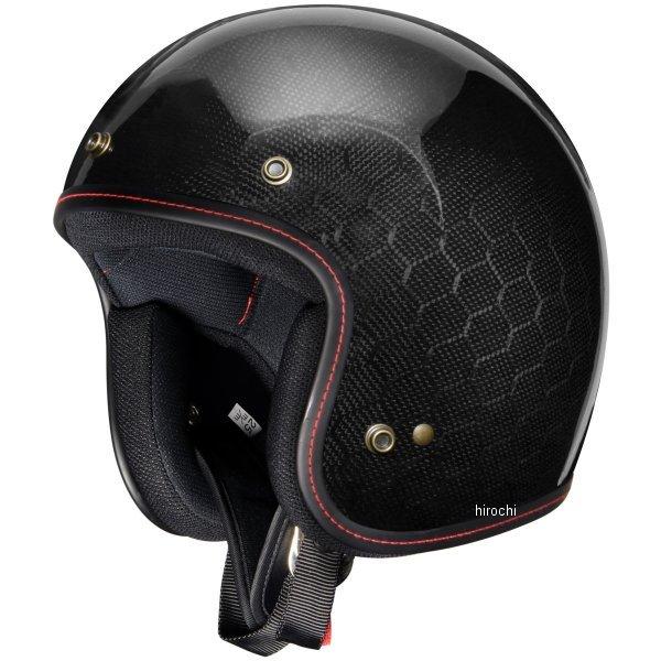 【メーカー在庫あり】 ジーロット ZEALOT ジェットヘルメット フライボーイジェット FlyboyJet CARBON HYBRID HEXAGON Lサイズ FJ0012/L HD店