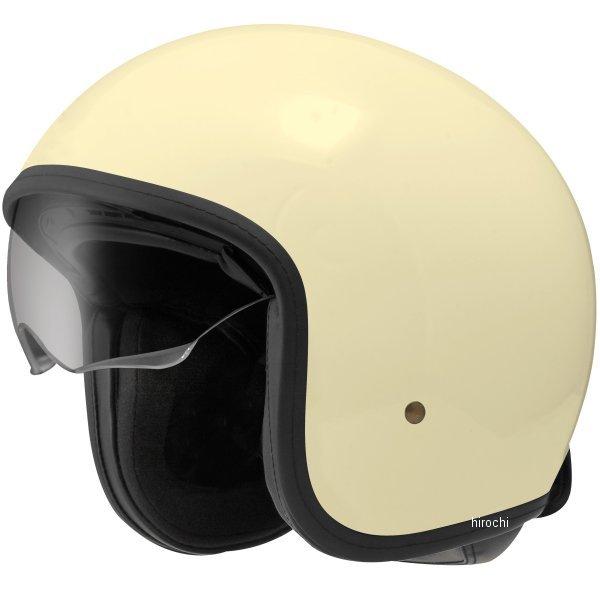 【メーカー在庫あり】 ジーロット ZEALOT ジェットヘルメット NV インナーシールドジェット NV InnerShield Jet アイボリー Lサイズ NV0011/L HD店