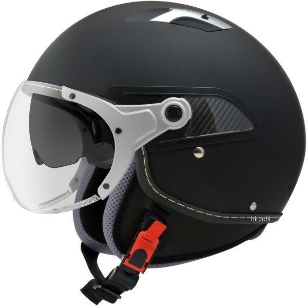 【メーカー在庫あり】 ジーロット ZEALOT ジェットヘルメット ジルライド インナーシールドジェット マットブラック Sサイズ JR0012/S HD店