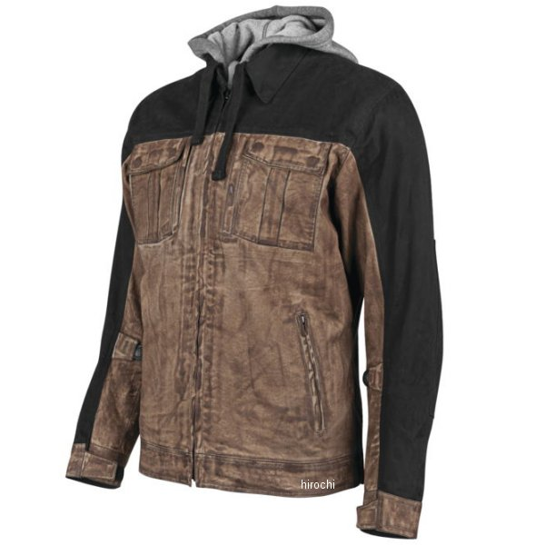 【USA在庫あり】 スピードアンドストレングス テキスタイルジャケット Rough Neck ブラウン/黒 Lサイズ 884660 HD店