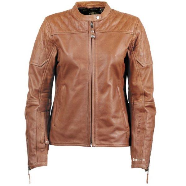 【USA在庫あり】 ローランドサンズデザイン RSD レザージャケット 女性用 Trinity ブラウン Lサイズ RD8406 HD店