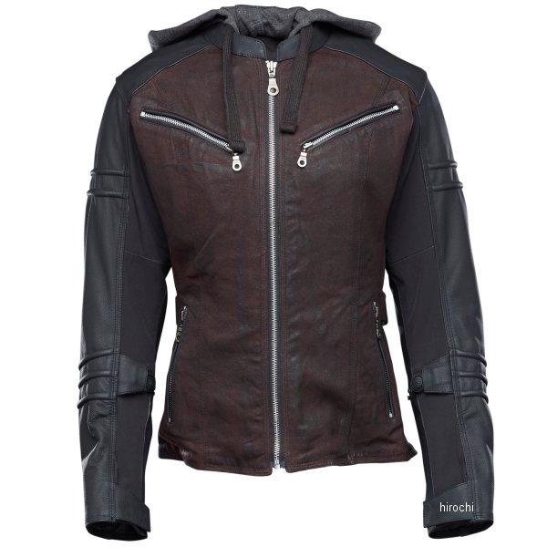 【USA在庫あり】 スピードアンドストレングス ジャケット 女性用 Street Savvy OxbLood/黒 XSサイズ 880702 HD店