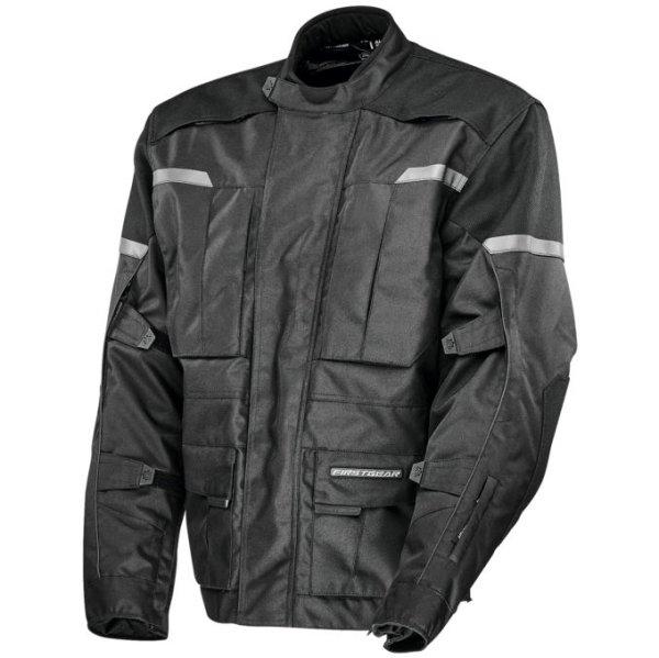 【USA在庫あり】 ファーストギア FirstGear ジャケット Men's Jaunt 黒 Sサイズ 516814 HD店