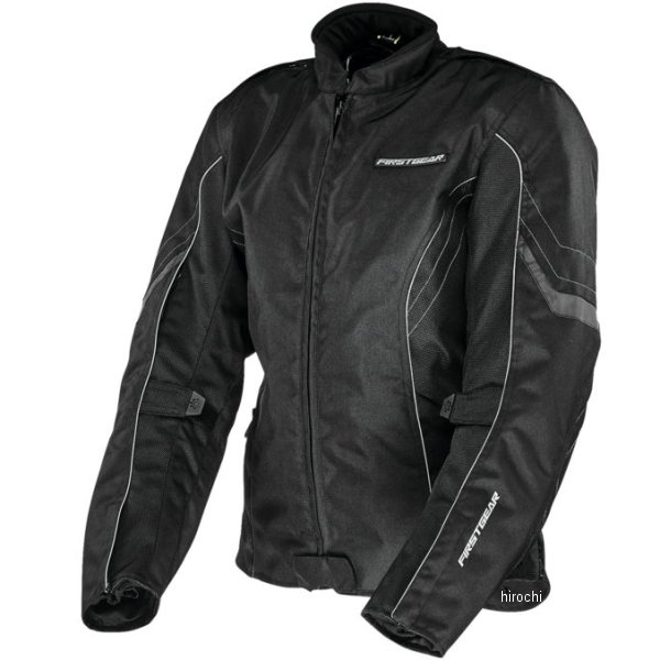 【USA在庫あり】 ファーストギア FirstGear テキスタイルジャケット 女性用 Contour 黒 WLG 516913 HD店