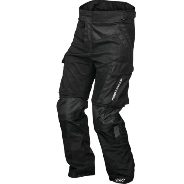 世界の人気ブランド USA在庫あり ファーストギア FirstGear パンツ Men's 38S セール特価 Panamint 黒 HD店 517575
