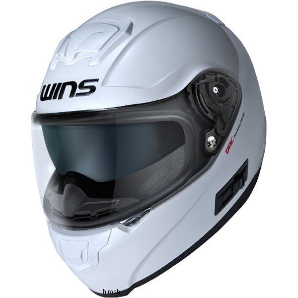 【メーカー在庫あり】 ウインズ WINS フルフェイスヘルメット FF-COMFORT クールホワイト Mサイズ(57-58cm) 4560385761003 HD店