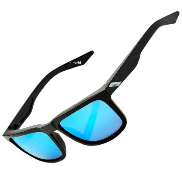 【USA在庫あり】 100パーセント 100% サングラス Active Lifestyle ブレイク 黒(つや消し)/ブルーミラーレンズ 954847 HD店