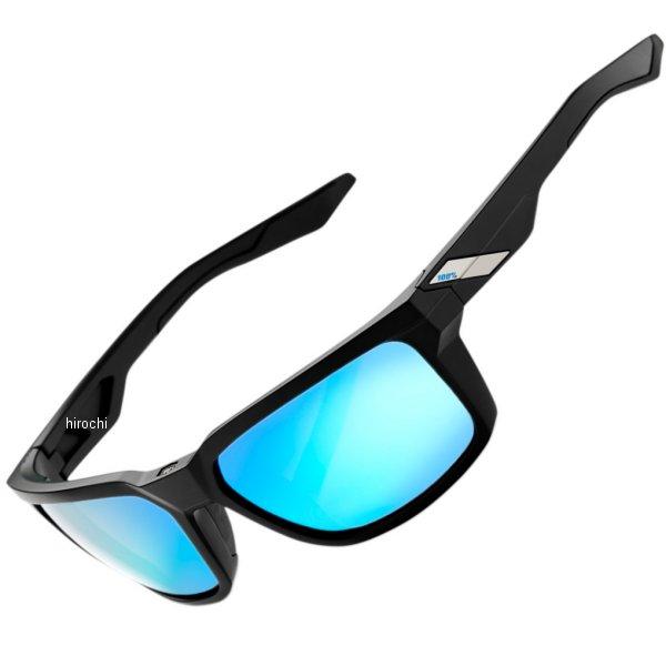【USA在庫あり】 100パーセント 100% サングラス Active Lifestyle Daze 黒(つや消し)/青ミラーレンズ 954852 HD店