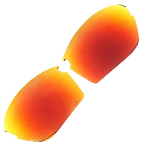【USA在庫あり】 100パーセント 100% 補修 レンズ サングラス Sportcoupe用 赤ミラー 954910 HD店