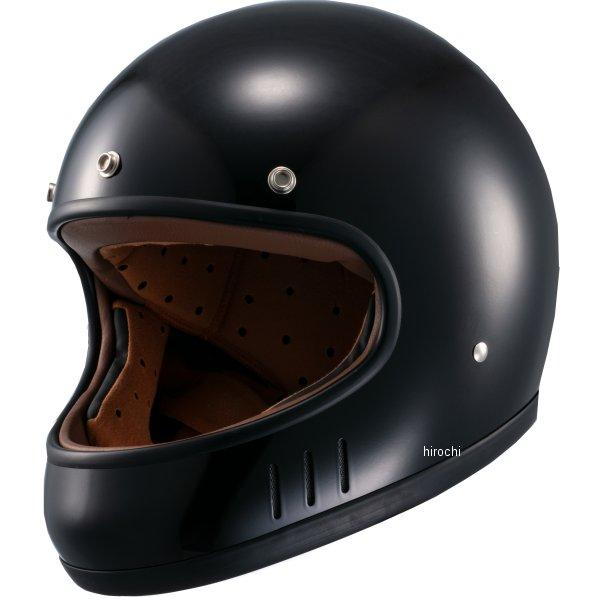 マルシン工業 Marushin フルフェイスヘルメット ネオレトロスタイル MNF2 DRILL ドリル 黒 Lサイズ 4980579002468 HD店
