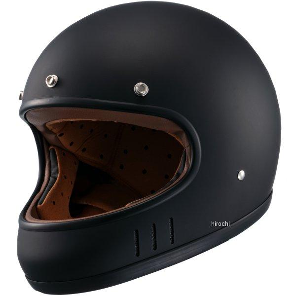 マルシン工業 Marushin フルフェイスヘルメット ネオレトロスタイル MNF2 DRILL ドリル マットブラック Lサイズ 4980579002529 HD店